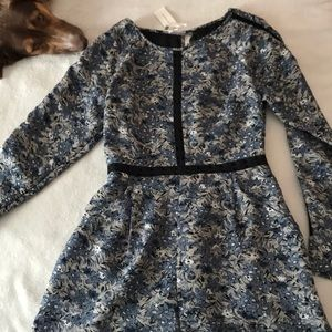 Anthropologie Long Sleeve Romper